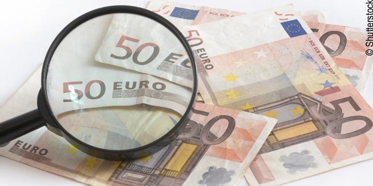 Falschgeld ist weiter verbreitet als man denkt
