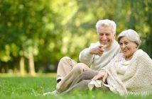Glücklich und unbeschwert im Alter