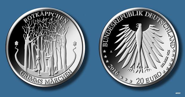 Die neue 20 Euro Münze
