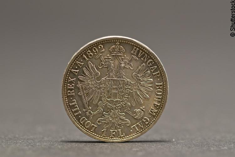 Alte Florin Münze