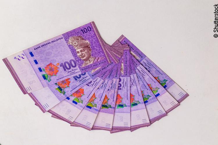 100 Ringgit Banknote Malaysia