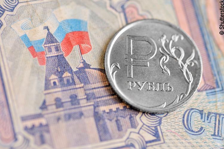 Russischer Rubel – Münze und Note