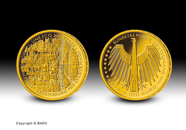 Die neue 100-Euro-Goldmünze