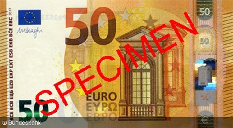 Der Neue 50 Euro Schein Und Seine Sicherheitsmerkmale Im Portrait