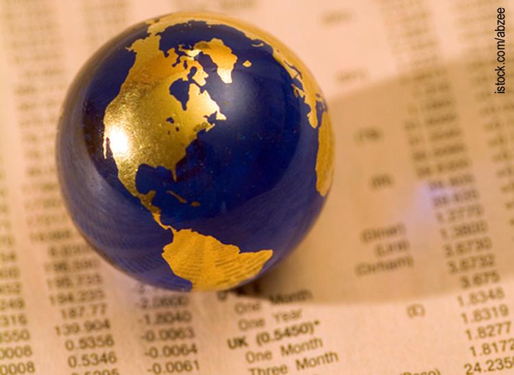 Weltweiter Aktienhandel