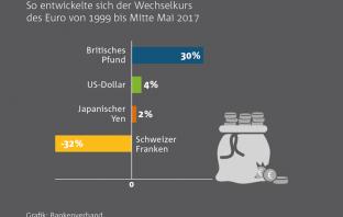 Euro-Wechselkurs (1999-2017)