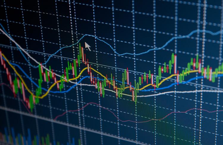 Schwankende Kurse an der Börse