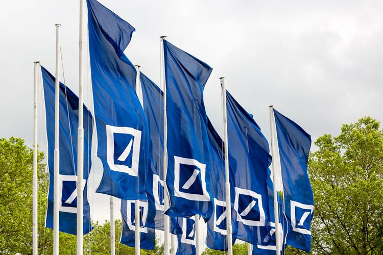 Deutsche Bank im Aufwind