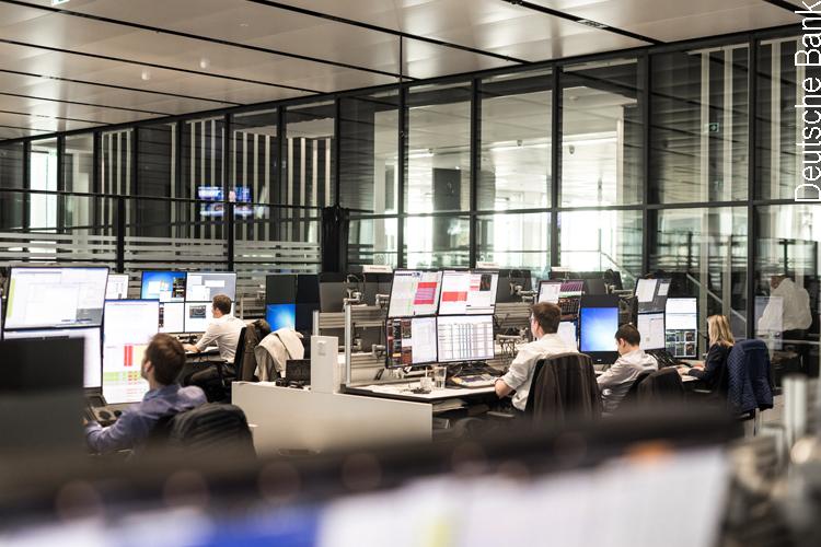 Handelssaal der Deutschen Bank