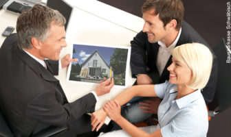 Ein Beratungsgespräch zur Immobilienfinanzierung