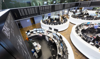 Wertpapierhandel an der Frankfurter Börse