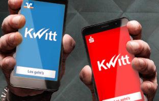 Mobile Payment der Sparkassen mit Kwitt