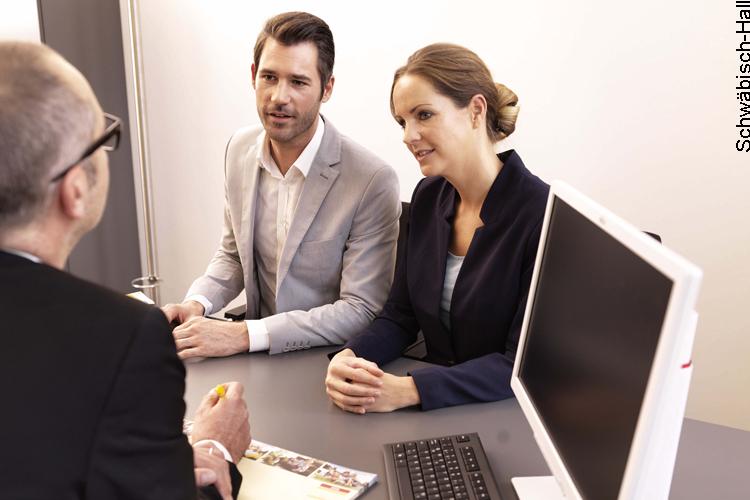 Beratergespräch bei auftauchenden Kreditproblemen