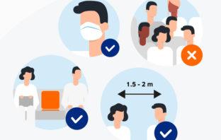 Einfluss der Corona-Pandemie auf Leben und Alltag