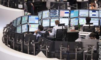 Unsichere Zeiten an der Börse dank Corona-Pandemie