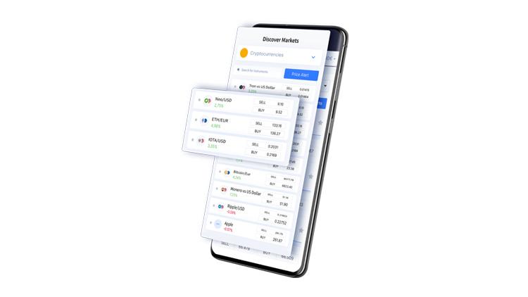 Mit der NAGA-App hat man den Markt immer im Blick