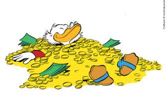 Sparen die Deutschen wie Dagobert Duck?
