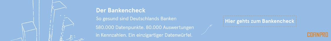Bankencheck: So gesund sind Deutschlands Banken