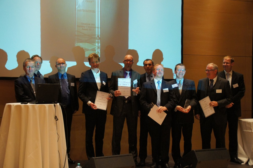 Die Gewinner des Banking Innovation Award 2011