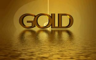 Die Herkunft und Verwendung von Gold als Infografik