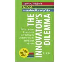 Buch zum Dilemma der Innovatoren auch für Banken und Sparkassen