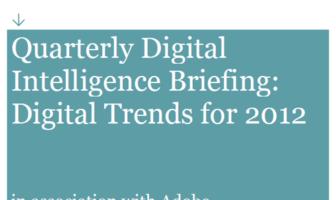 Studie über digitale Trends für das Jahr 2012