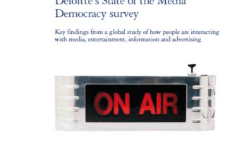Weltweite Trends der Nutzung und Verwendung von Medien