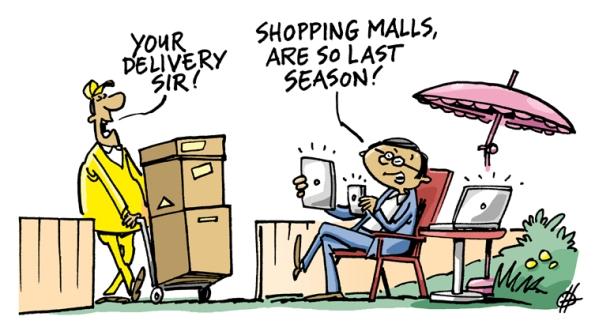 Digital Shopaholics nutzen  digitale Kanäle und Geräte wie Smartphone-Apps und In-Store-Technologie aktiv
