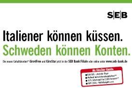 Versuch der SEB ihr Marketing am Ikea Erfolgskonzept und guten Image Schwedens auszurichten