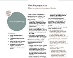 Erfolgsstrategien beim mobilen Bezahlen für Banken und Sparkassen