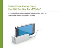 Mobile Wallets und das Risiko der Banken im Wettbewerb mit neuen Anbietern ins Hintertreffen zu geraten.