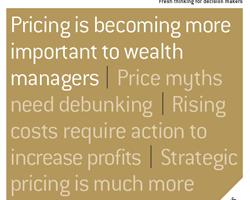 Preisgestaltung und Preismodelle im Private Banking und Wealth Management