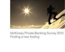 Aktuelle Bestandsaufname des Privat Banking Geschäftes von McKinsey