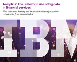 Big Data für Analysen in der Finanzdienstleistung