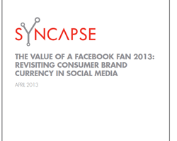 Der Wert eines Facebook Fans
