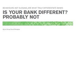 Studie über Merkmale zur Differenzierung von Banken und Sparkassen