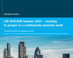 Entwicklung und Perspektiven im Investment Banking