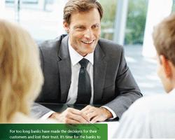 Freundlichkeit, individueller Service und Kompetenz bei Banken und Sparkassen