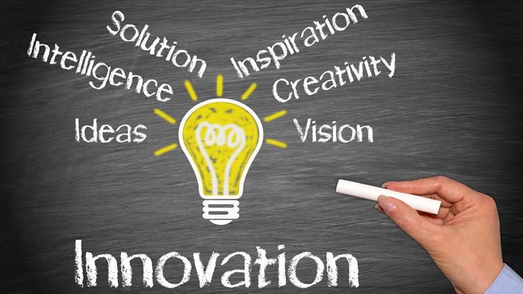 Kreativität und Ideen sind Voraussetzung für Innovation
