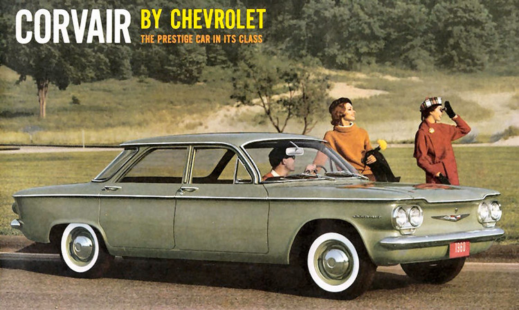 Mit der Chevrolet Corvair kam der Wandel zur Standardisierung im Automobilsektor