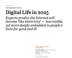 Die Zukunft des Internets im Jahr 2025
