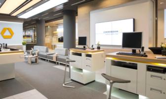 Die Commerzbank hat einen neuen Flagshipstore in Stuttgart eröffnet