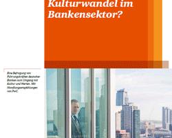 Analyse und Handlungsempfehlungen zum Umgang deutscher Banken mit Kultur und Werten