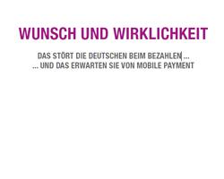 Was deutsche Kunden vom mobilen Bezahlten erwarten und was sie stört