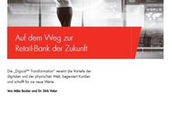 Studie über die Auswirkungen der Digitalisierung auf das Retail Banking