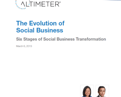 Evolution of Social Business