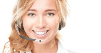 Guter Kundenservice beginnt mit einem Lächeln