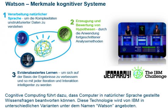 Drei Merkmale kognitiver Systeme