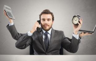 Zeitüberlastung im Management