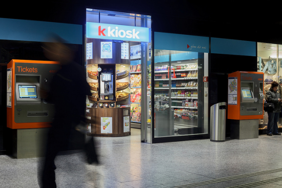 Valora Kiosk am Berner Hauptbahnhof